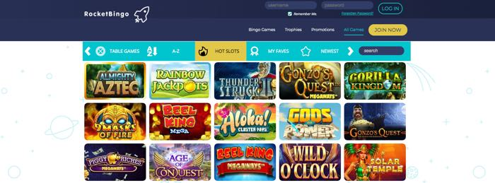 Rocket_bingo_casino_spel
